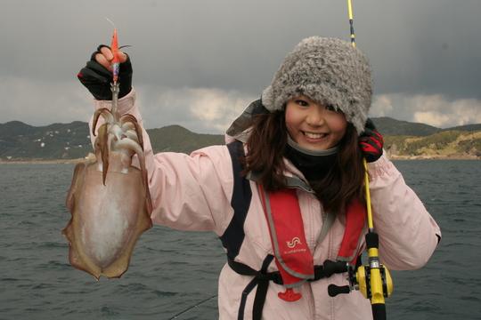 釣り 関西 イカ